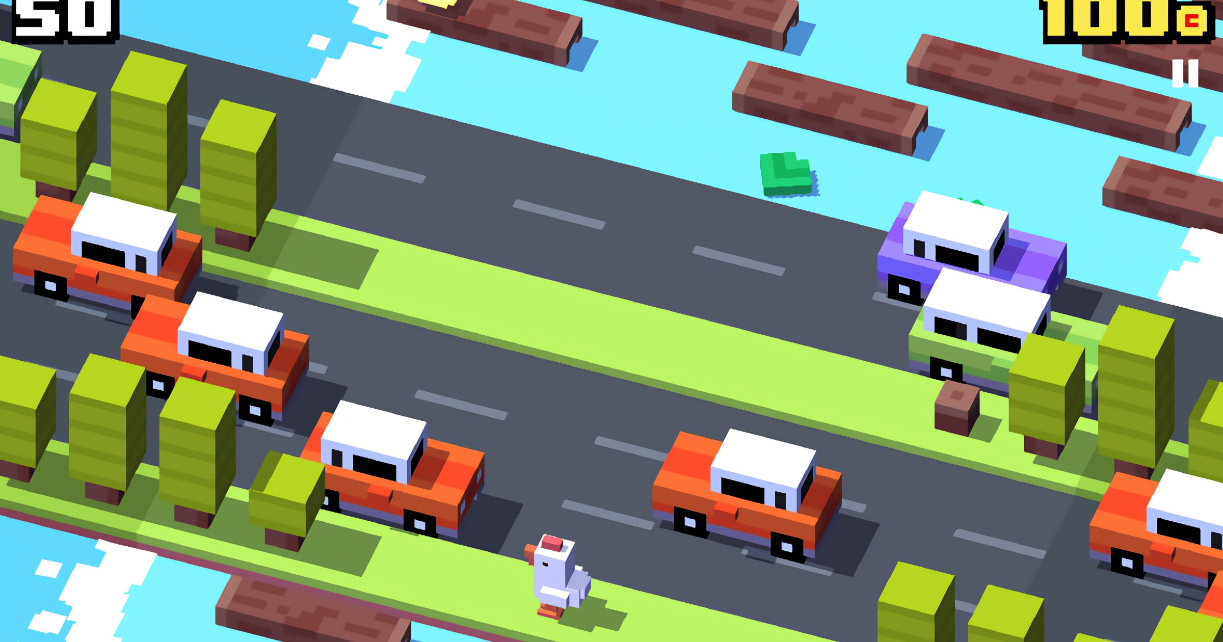 'Crossy Road+' Comes to Apple Arcade Featuring Beloved Crossy Chicken