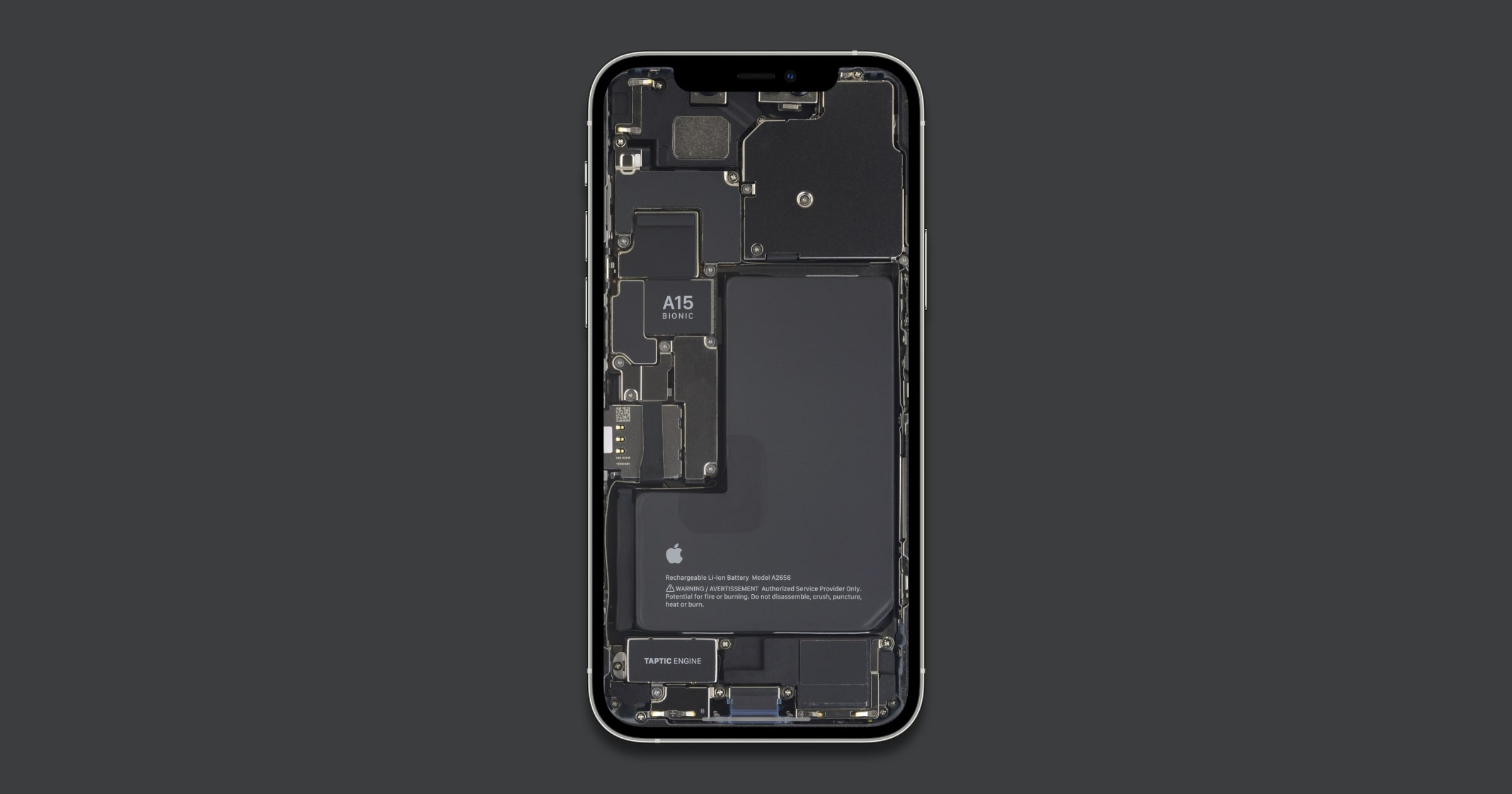 iFixit Shares New Teardown Wallpapers for iPhone 13 Pro Models