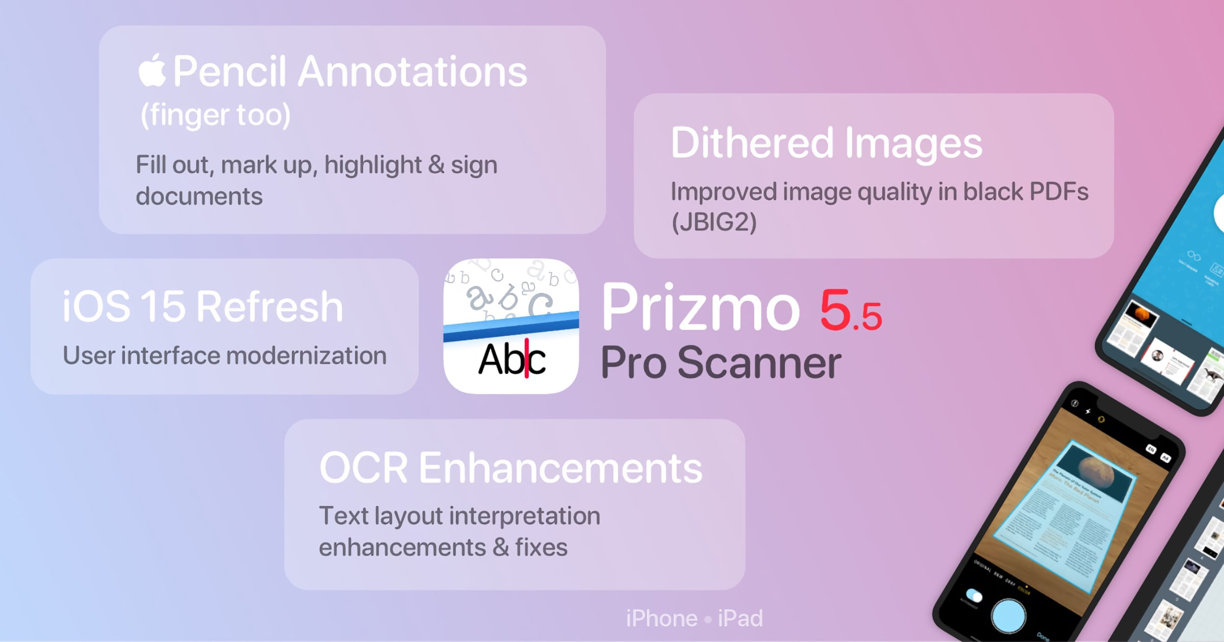 'Prizmo 5' Scanner From Creaceed Adds Apple Pencil Support