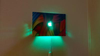 MacBook Pro   Green