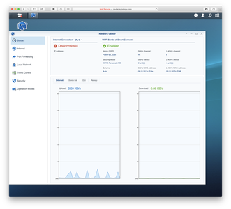 Synology SRM Network Center Status Screen Shot 2021 06 07 at 5.14.17 PM