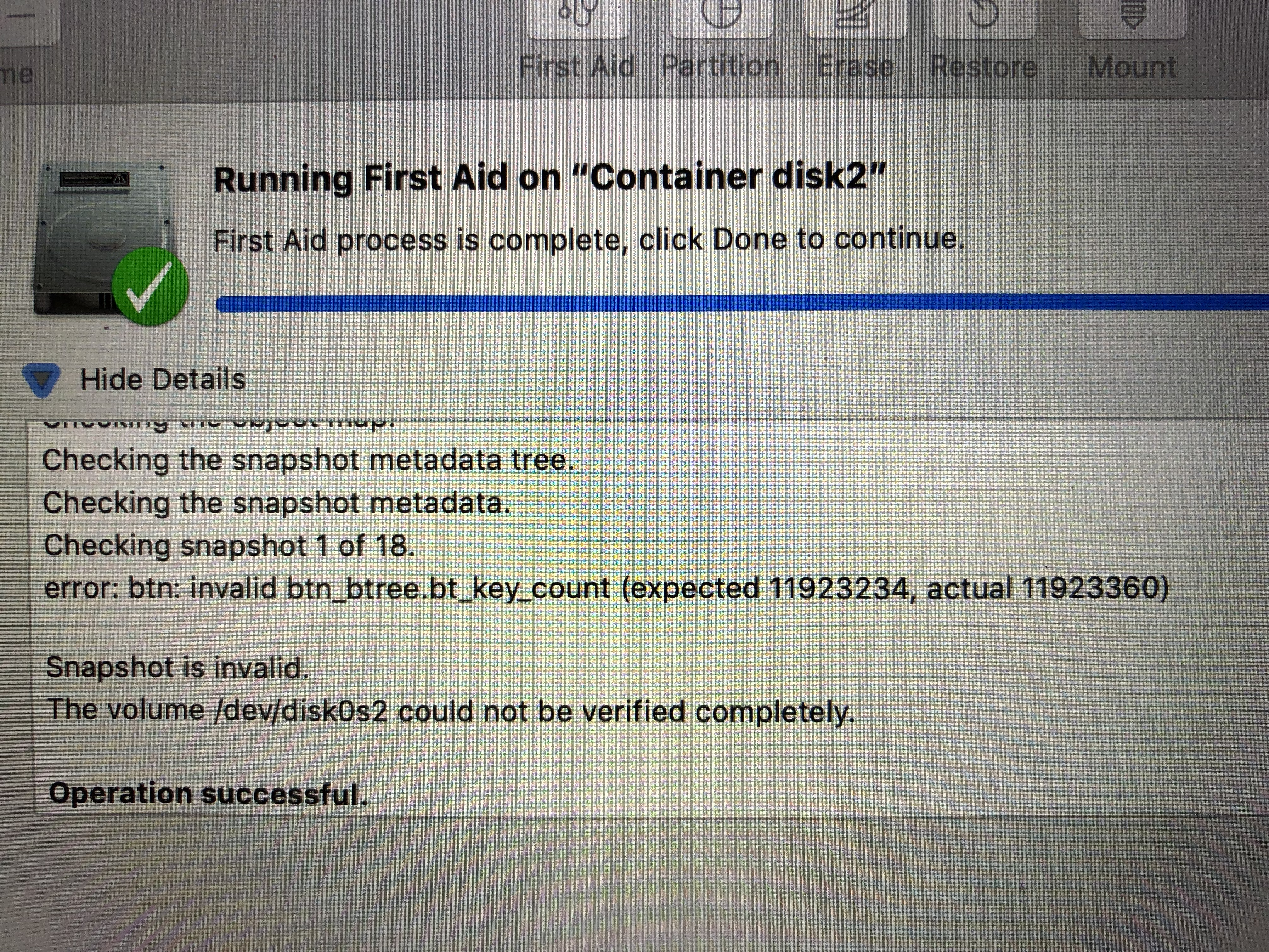 Is there any tool yet that repairs APFS containers? – Mac Questions