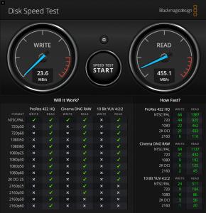 speedtest webdav
